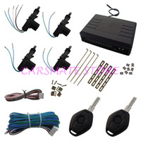 Remote Car Starters alarm products system - Universal Model Car Remote Central Door Lock System With BMW Remote Control To Lock Unlock Trunk Release And Find Car Product