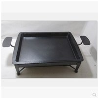 Cheap Wholesale-Special thick cast iron stove Zhuge grilled fish furnace antique copper pot furnace carbon carbon oven grill pan head