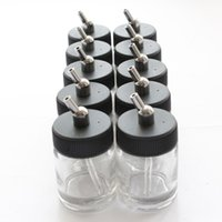 airbrush pump - Dual Action Airbrush Glass Bottle x Standard Suction Lid Pump Spray Top_AC016 x