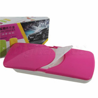 best car tissue holder - Best Seling Mixed Colors Pretty Cute Car Sun Visor Tissue Box Auto Accessories Holder Paper Napkin Clip