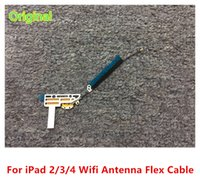 WIFI Flex Cable tablet parts - Original New Wifi Antenna Bluetooth Flex Cable Signal Antenna Replacement Parts For Apple iPad2 ipad ipad iPad