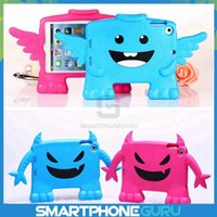 Wholesale Angel Evil Baby Children Kids Safe Non toxic EVA Hard Foam Shockproof Handle Stand Portable Protection Protective Case Cover for iPad Mini
