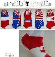 cheap socks - 2015 hot sale Cheap Men s national flag style socks summer stealth ship socks for Men cuttonsocks short Boat socks fashion printed men socks