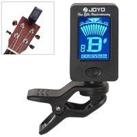 Wholesale 360 Degree Rotatable Mini Digital LCD Clip on Tuner for Chromatic Guitar Bass Violin Ukulele MIA_231