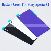 cover For Sony Xperia Z2 - Battery Cover Back Glass Panel Replacement For Sony Xperia Z2 Housing