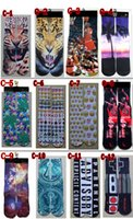 Cheap 48 COLORS 3d socks for men cartoon superman socks women men hip hop cotton skateboard printed sox socks Unisex stocking mens socks C013