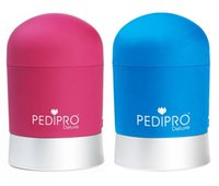 Wholesale Newest PediPro Deluxe Pedicure Hard Skin Remover Kit Set Electric Foot Exfoliator Soft Red Blue Express Pedi Foot File DHL