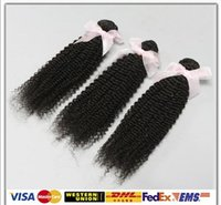 virgin hair extensions - Top Remy Hair Kinky Curly Brazilian Peruvian Malaysian Indian Virgin Hair Extensions Unprocessed Human Hair Weave Wefts A