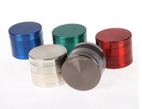Wholesale herb grinder grinders for tobacco SharpStone metal Sharp Stone parts mm mm teeth filter net dry smoking