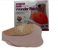Wholesale 2015 MYMI Wonder Slim patch slimming belly Patches Gel Loss Weight Abdomen fat burning patch pack DHL FREE