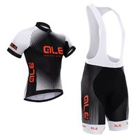 bicycle wear cycling shorts - 2015 newest giordana cycling jersey black color bike wear short sleeves bicycle clothing with gel paddes pants size XS XL