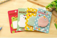 Wholesale sell of lovely fashionable post it four color small notepad post it notes
