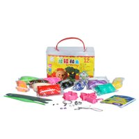 colored sand - Fancy Idea designer play doh Educational Toys colors Polymer Clay set with tools DIY colored clay plasticine fimo clay sand