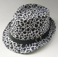 Wholesale color fashion new fashion women hat leopard print wool cap