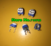 Wholesale RM RM065 Kohm K Trimmer Potentiometer Trimmer Resistors Variable adjustable Resistors