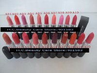 beauty supplies sale - 120pcs Hot Sale Brand New Lip Cosmetics Lustre Lipsticks G Colors with English Name MC Beauty Makeup Supply free DHL EMS shipping