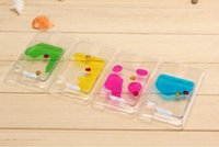 Cheap Wholesales-New Floating Fish Running Sand Liquid Dynamic Hard Case Cover For Samsung S3 I9300