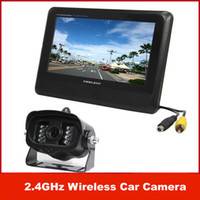 Wholesale Freeshipping New GHz Wireless Car Camera Rearview Camera System quot TFT LCD Monitor