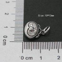 Wholesale 30pcs Antique Sterling Silver Prayer Charms mm DH BJS035