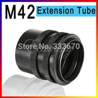 Wholesale 3 Ring Macro Extension Tube for SLR cameras with M42 lens mount for Canon EOS EF DSLR SLR D II D D D D D