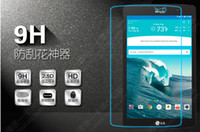 Wholesale 9H Tempered Glass Screen Protector Film for LG Tablet G Pad F V400 V500 V700