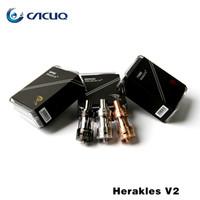 Cheap electronic cigarettes Vaporizer Authentic Herakles Tank Sense Herakles V2 2ml Sub Ohm Tanks VS Herakles Plus Griffin RTA TFV4 Atomizer