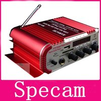 Wholesale Handover car amplifier HY600 V Hi Fi Mini Auto Stereo Audio Amplifier Mircophone Support CD DVD MP3 Car Power Amplifier