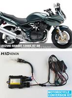 Wholesale motorcycle moto xenon kit Headlight motorbike hid lights ballast for SUZUKI Bandit S K K K K K