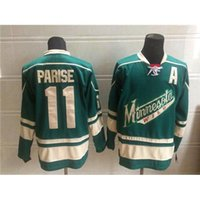 Wholesale Wild Zach Parise Green Profession Hockey Jerseys Top Hockey Wears Ice Hockey Wear Cheap Athletic Shirt New Collection Outdoor Uniform