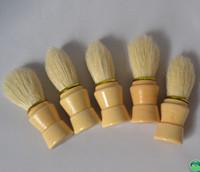 shaving brush - Professional bristle Barber Salon Shave Shaving Razor Brush wooden Handle Tools Beard Mustache Brushes For Men Clearance Beard