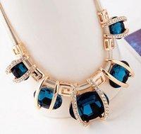 Colliers de pendentif bijou de haute qualité Nouveau Mode féminine Vintage Collier surdimensionné femmes