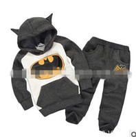 Girl batman costume hoodie - 18 OFF high quality children s clothing for girls hoodies cartoon Batman costume Girl clothes hot sale pcsTshirt pants DM