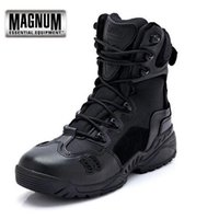 Wholesale Military Tactical Magnum Combat Outdoor Sport Army Men Boots Desert Botas Hiking Autumn Shoes Travel Leather High Boots Male