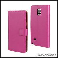 n7000 case - Genuine Leather Wallet Case for Samsung Galaxy Note Note Edge Note Note Neo N750 Note Note N7000
