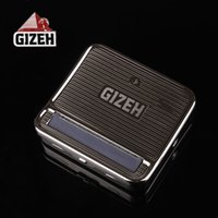 Wholesale GIZEH MM Aotomatic Rolling Machine Cigarette Rolle MACHINE herb grinder vaporizer snuff snorter
