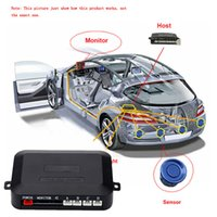 Wholesale DC V Car Detecor LED Display Car Parking Assist Sensor Reverse Radar m Car Detector Alert System by Wireless Link Parking order lt no t