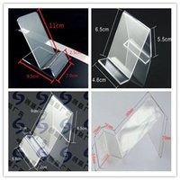 Wholesale Acrylic cell phone MP3 cigarette DV GPS display shelf Mounts Holders mobile phone display Stands Holder at good price free shippiing