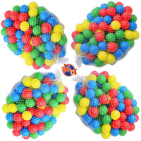 Wholesale 400 Colorful Ball Pit Balls Fun Ball Soft Plastic Cool Ocean Swim Toy