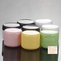 Wholesale G Cream Jars Empty Cosmetic Container Small Plastic Box MINI Canister Sample Makeup Sub bottling