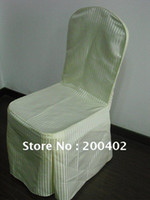 Wholesale damask chair cover wedding banquet chair cover for hotel use