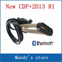 Cheap with bluetooth!!! Best Service and Price:Newest 2013.R1 software TCS cdp pro plus cars+trucks 2 in 1+bluetooth,DHL Free shipping