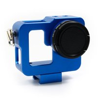 Wholesale New ARRIVAL XTGP206 Aluminium Alloy Protective Housing Case Shell for GoPro Hero Black Blue Red waitingyou