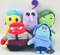 Wholesale MOQ Inside Out plush toys Movie Anger Plush Stuffed toy Doll newest inch Inside Out toys doll children s toys and gifts