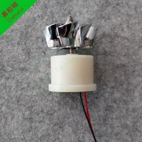 Wholesale LC24 DIY toy White shell Micro wind generators Mini Wind power AC The generator model Science education tool