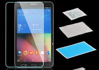 Wholesale for Samsung Galaxy Tab Tempered Glass Screen Protector SM T230NU T237 T230 TAB T530 TAB T330 with without retail box
