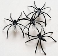 amazing props - FD621 Amazing Incomparable Halloween Plastic Lovely Spider Joking Toy Decoration Realistic Prop