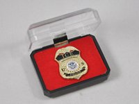 antique ice bucket - 2016 Real Ussr Dhs Department Of Homeland Security Immigration And Customs Enforcement Ice Protective Brooch Badge