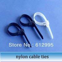 adjustable cable ties - 500pcs nylon self locking adjustable tie loose cable ties mm