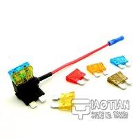 auto fuse tap - Medium ATM Fuse Tap Add on Dual Circuit Adapter Auto Car Auto Terminals