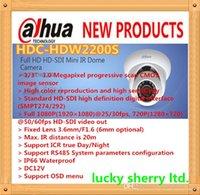 Wholesale DAHUA quot CMOS1080P Full HD IR Mini HD SDI Dome Camera with m IR Distance IP66 HDC HDW2200S